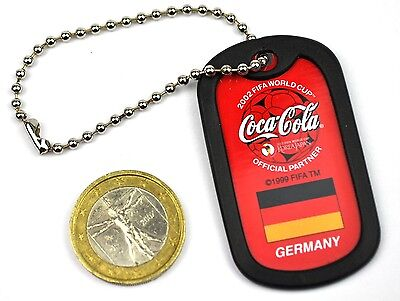 Coca-Cola FIFA World Cup 2002 Korea Japan Schlüsselanhänger Key Chain 26 Länder