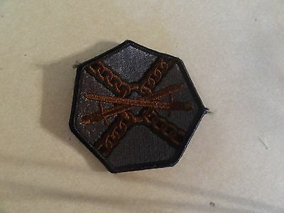 GENUINE US MILITARY INSIGNIA PATCH HOOK BACK ACU/'S INSTALLATION MANAGEMENT