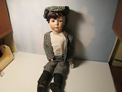 Reproduction of Gebruder Heubach German Billy Porcelain Head, Composition Body