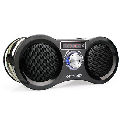 Camouflage Stereo FM Radio USB TF Card Speaker MP3 Music Player + Remote Control