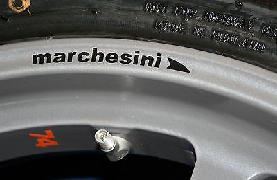 MARCHESINI WHEEL RIM Decals / Stickers - Ducati Aprilia MV Agusta -COLOUR CHOICE