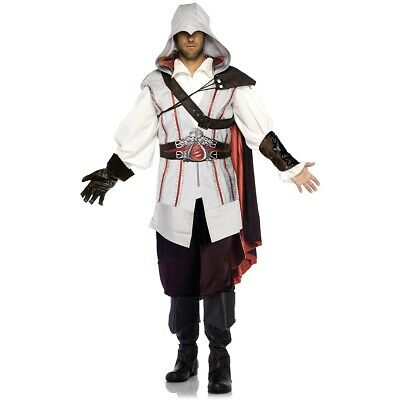 Assassins Creed Costume Adult Ezio Halloween Fancy Dress Eur 82 73 Picclick Fr