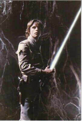 Star Wars Empire Strikes Back Luke Skywalker 4 x 6 Photo Postcard #105078 UNUSED