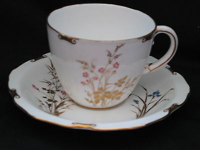 Royal Crown Derby DEVONSHIRE - Cup & Saucer - SILVER SHAPE