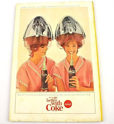 Coca-Cola Coke Anzeige USA komplettes Heft National Geographic Magazine 2/1965