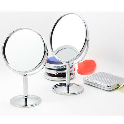 Double-Sided Beauty Makeup Cosmetic Mirror and Normal Stand Mirror