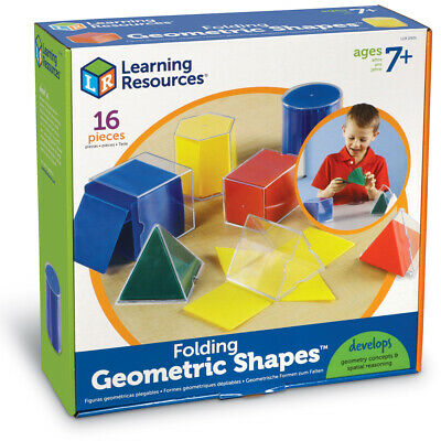 Learning Resources Folding Geometric Shapes NEW