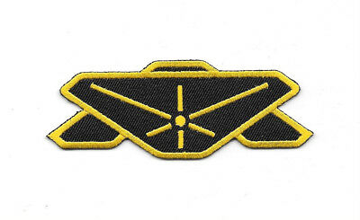 Babylon 5 Uniform Command Insignia Embroidered Patch, NEW UNUSED