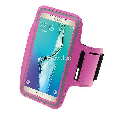 Rose Workout Sport GYM Armband Case for Samsung Galaxy Note 8 / iPhone 7/ 8 Plus