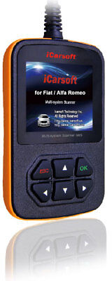 iCarsoft i950 Alfa Romeo Fiat Diagnose für alle Steuergeräte ABS AIRBAG MOTOR ..