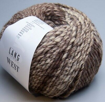 Lang Yarns West 0096 / 50g Wolle (9.50 EUR pro 100 g)