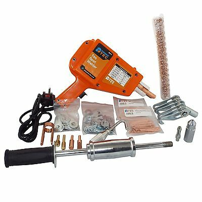 Spot Stud Welder Tool Kit + Squiggly Wire For Smart Repairs
