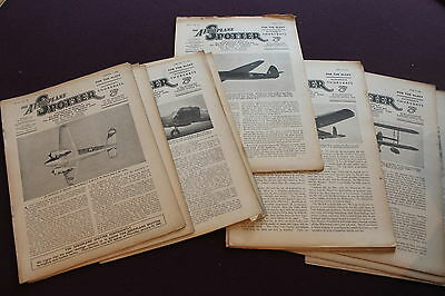 (E1GBis)  LOT OF 14 THE AEROPLANE SPOTTER 1942 Vol. III