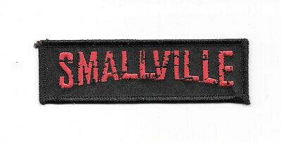 Smallville TV Series Town Name Logo Embroidered Patch NEW UNUSED