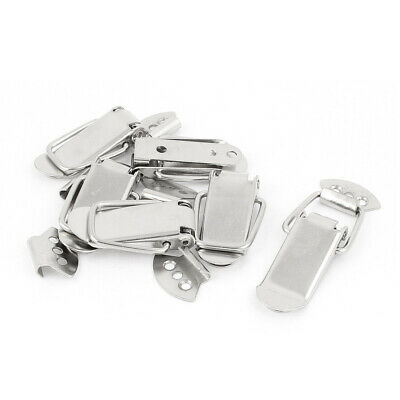 Case Boxes Suitcase Chest Lock Spring Loaded Clip Toggle Catch Latch Set 6 Pcs