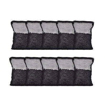 10 lbs Activated Carbon in 10 Media Bags for Aquarium Fish Pond Canister Filter