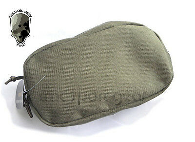 TMC Large Utility Tactical Matte RG Gray Cordura Pouch Bag for Paintball Airsoft