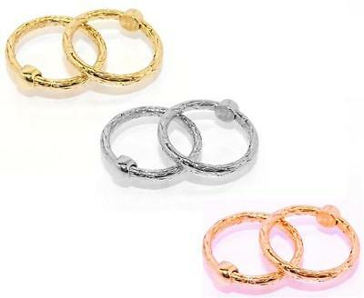 Fancy Round Byzantine Band Ring Yellow White Rose Gold 14K Size Color Selectable