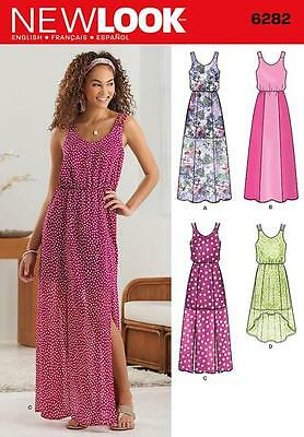 New Look Sewing Pattern Misses' Dress 2 Lengths  Size 4 - 16  6282