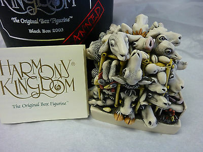 Harmony Kingdom Factory Fresh Black Box Limited Edtion