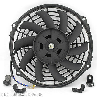"9"" 9 Inch Fan Universal Performance Push Pull Electric 12v 12 Volt Cooling Fan"