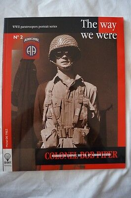 WW2 US 82nd Airborne The Way We Were Colonel Bob Piper Reference Book