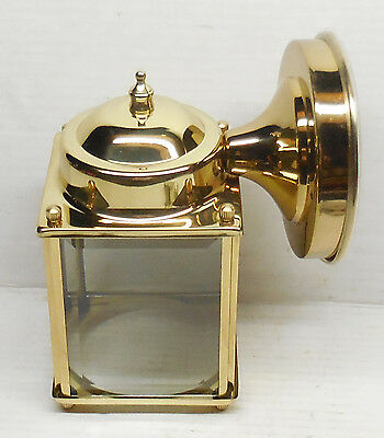 New Solid Brass Porch Hallway Wall MountL ight Fixture          314