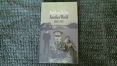 WW1 British Anthony Eden Another World 1897-1911 Reference Book