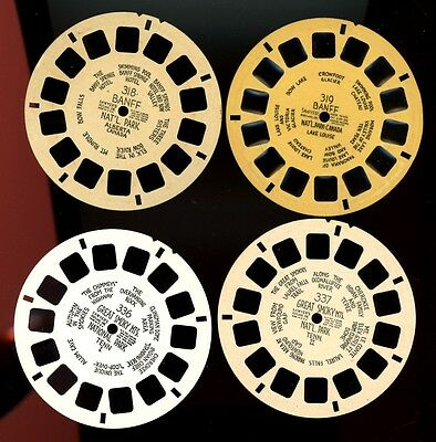 Close Out Sale VIEW-MASTER 18 Single Reels: Canada & Mexico