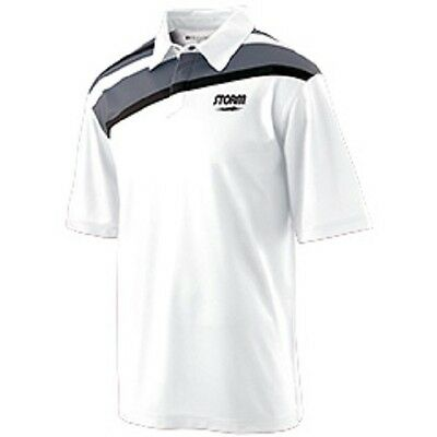 Storm Status Polo Mens Bowling Shirt- Choice of Size and Color