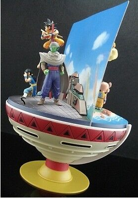 Set of 3 Boxes Dragon Ball Diorama DVD Gift  Vol.1 , Vol.2 and Temple Figure set