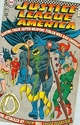Justice League of America #53 May 1967 VG