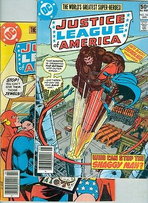 Justice League of America #186 and #187 VG