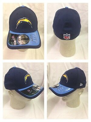 ddef8c5a8 San Diego Chargers OFFICIAL 2015 New Era 39Thirty Player Coach Sideline Cap  Hat