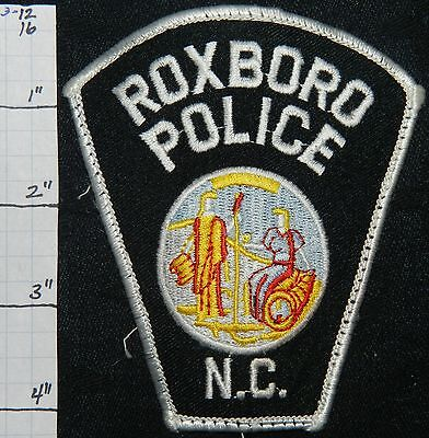 North Carolina, Roxboro Police Dept Patch