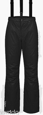 Black Mens SKI Snowboarding Pants Salopettes Sizes S M L XL ICEPEAK Travis