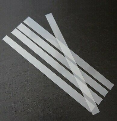 Mylar Clear Straps For Snare Drum Wires MONEY SAVER!