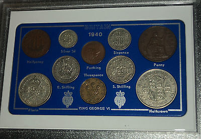 1940 Vintage Coin Set 77th Birthday Birth Year Present Wedding Anniversary Gift