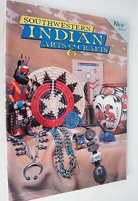Southwestern Indian Arts & Crafts by Tom and Mark Bahti 1997 Book