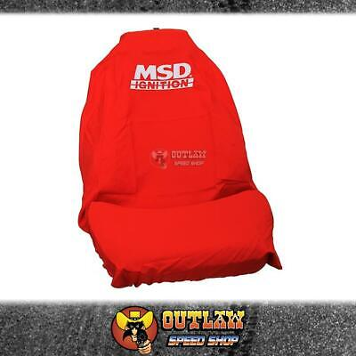 Msd Ignition Throw Over Car Seat Cover Red - Msd-Throw