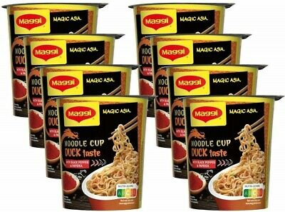 (100g=2,14€) Maggi 5 Minuten Terrine Magic Asia Noodle Cup Duck Ente - 65g