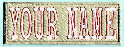 Custom LADY Ghostbusters Embroidered Name Tag Patch  [IRON-ON]  -- YOUR NAME
