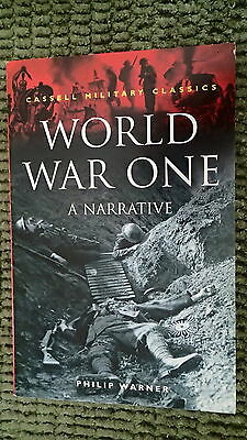 WW1 British World War One A Narrative Reference Book