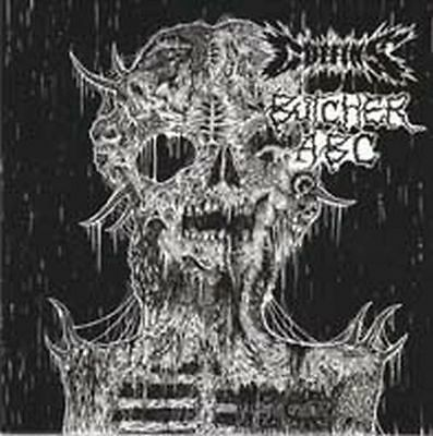 "Coffins / Butcher Abc -Split 7"" Ep-"