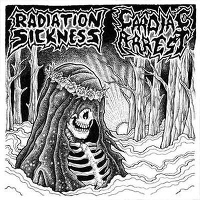 "Radiation Sickness / Cardiac Arrest -Split 7"" Ep-"