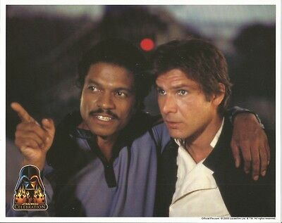 Star Wars Celebration Han Solo and Lando Looking On 8 x 10 Inch Photo