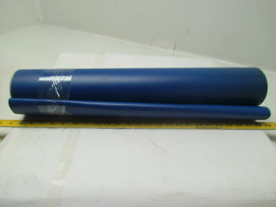 "Blue Smooth Top Continuous Conveyor Belt 15Ft X 24"" 0.050"" Thick 1-Ply"