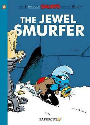 The Smurfs #19: The Jewel Smurfer by Peyo (English) Hardcover Book Free Shipping