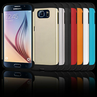Tough Armor Case for Samsung Galaxy S6 Slim Style Protection + Screen Cover
