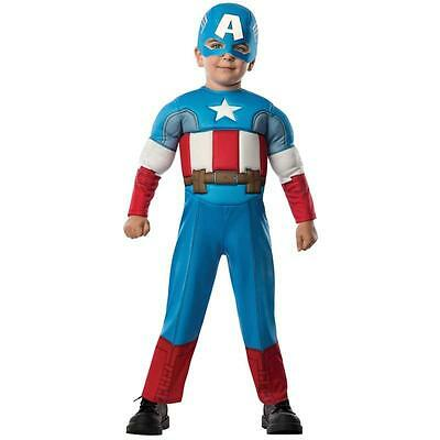 Marvel - Captain America Toddler Muscle Costume